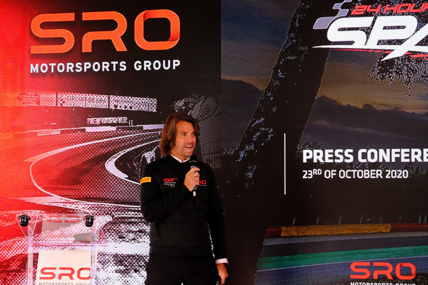 Stephane Ratel outlines plans for 2021 and beyond during Total 24 Hours of Spa press conference