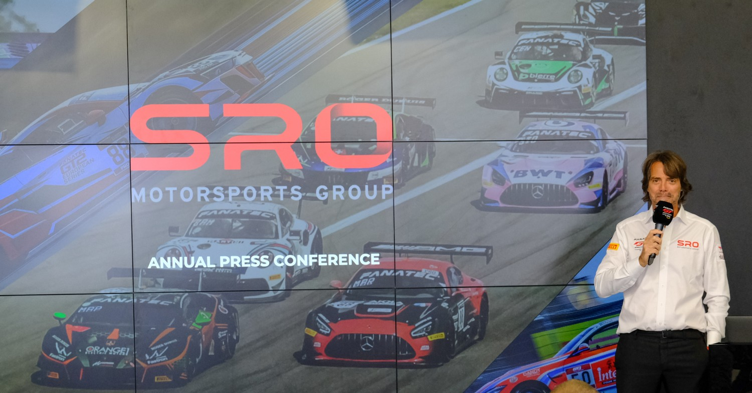 Stéphane Ratel details current and future projects during annual SRO Motorsports Group press conference