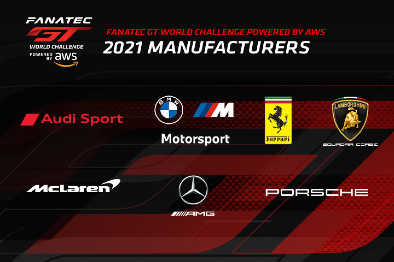 Global title battle begins with back-to-back events for Fanatec GT World Challenge Powered by AWS