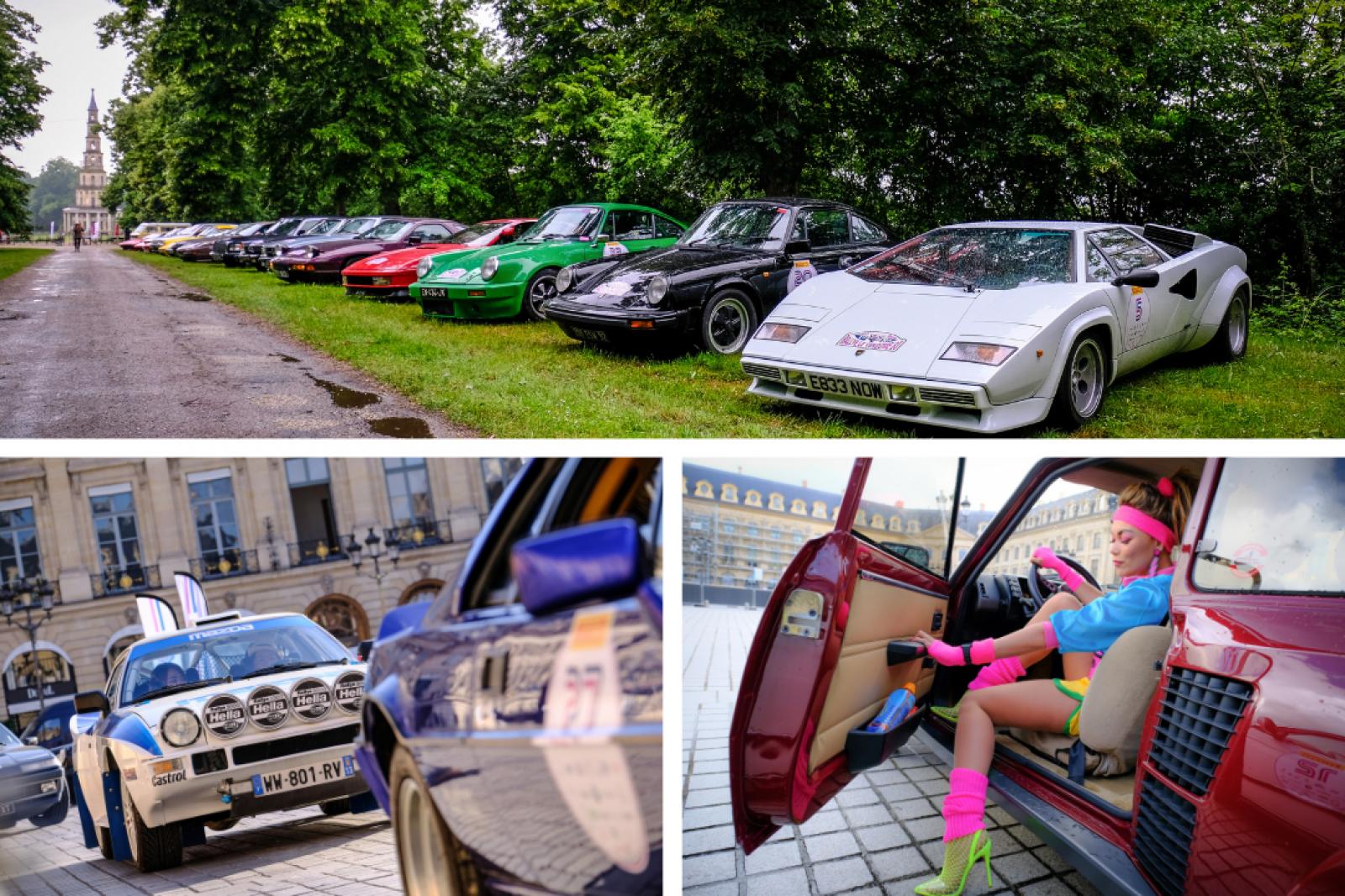 Rallye Total Look Vendôme 80: celebrating the glory of the eighties