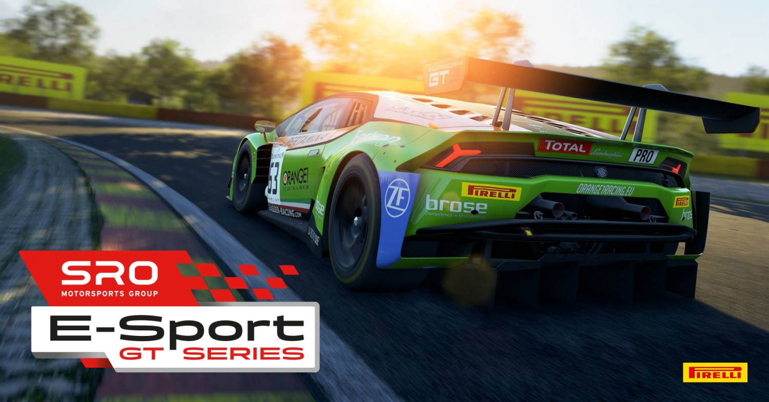 SRO Motorsports Group and Kunos Simulazioni to launch virtual GT racing championship