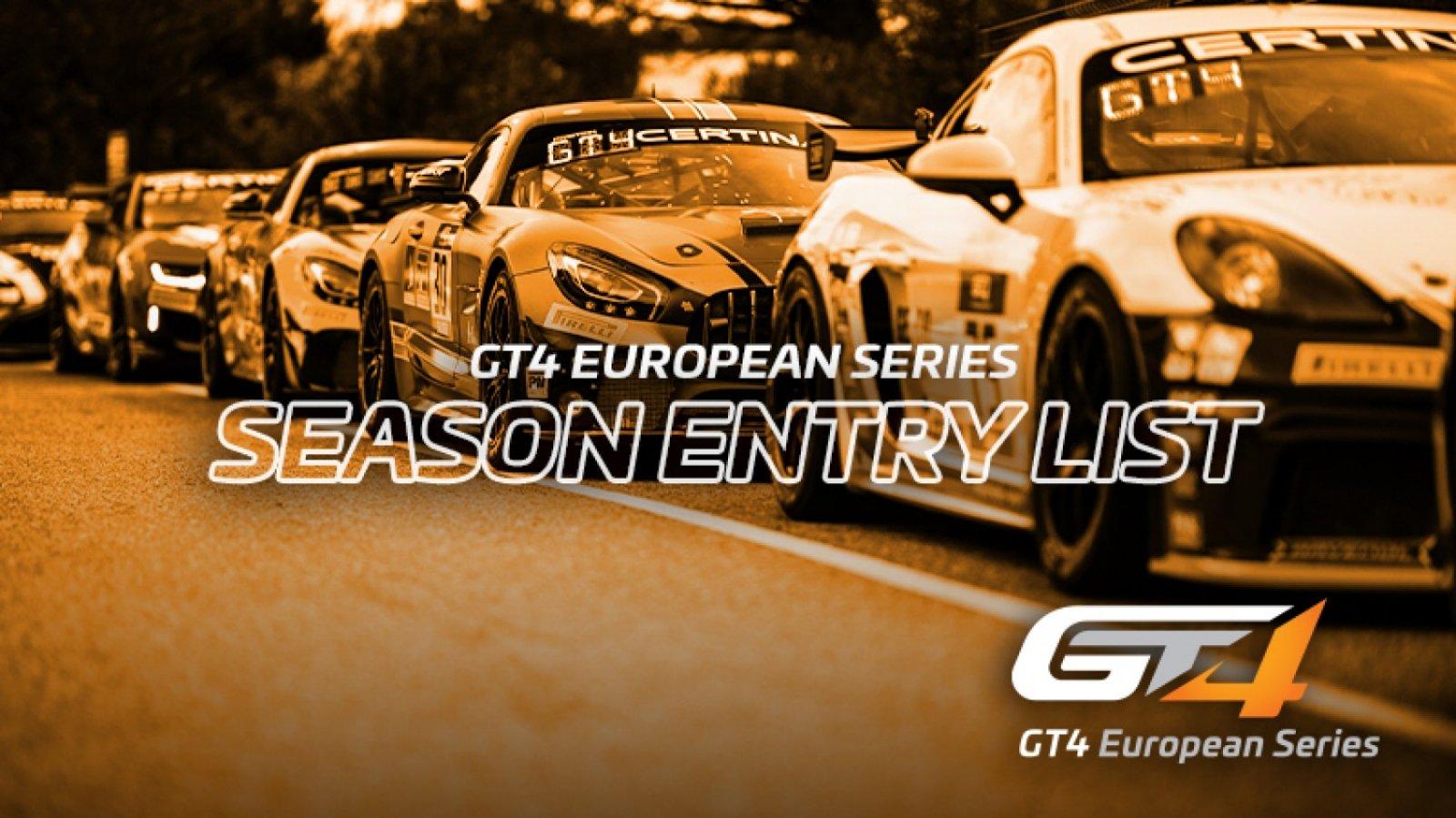 Major growth for GT4 European Series with 37-car full-season entry list