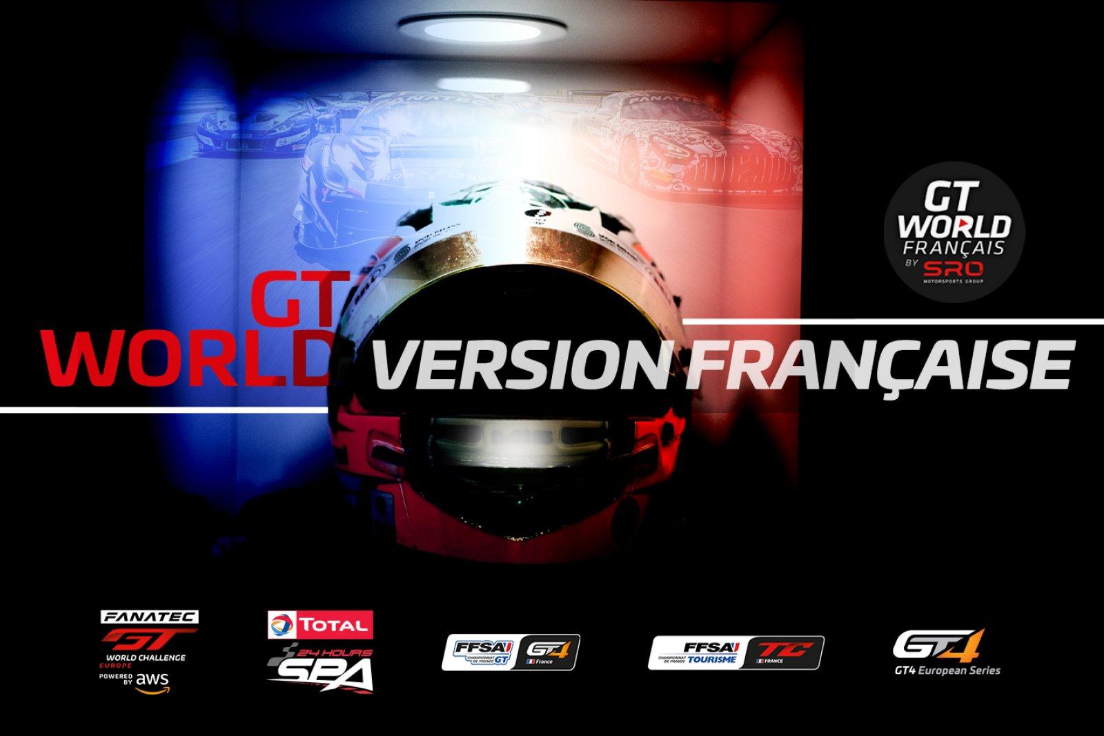 SRO Motorsports Group lance GTWorld Français sur YouTube